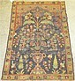 Four Oriental rugs, , A Malayer rug, West Persia, circa 1920, 5 ft. 1 in. x 3 ft.; a Tabriz rug, Northwest Persia, circa 1st quarter 20