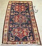 Akstafa rug, east caucasus, circa early 20th century,