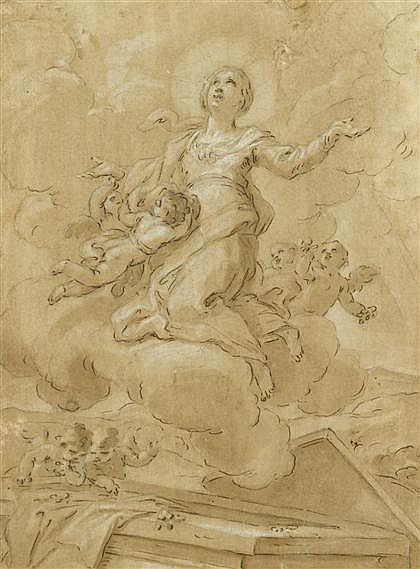 NORTHERN ITALIAN SCHOOL, (17TH CENTURY), SAINT IN ECSTASY