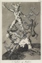 FIVE PRINTS FRANCISCO DE GOYA, (SPANISH 1746-1828), SUBIR Y BAJAR PLATE 56 FROM