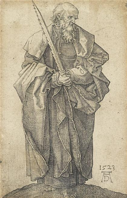 ALBRECHT DÜRER, (GERMAN 1471-1528), SAINT SIMON