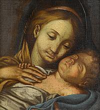 AFTER IGNAZ STERN, (GERMAN 1680-1748), MADONNA AND CHILD