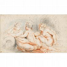 ATTRIBUTED TO THEODOR VAN THULDEN, (FLEMISH 1606-1669), NYMPHS
