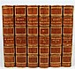 12 vols. Fielding, Henry. The Works. London: Gay and Bird, [1903]. 8vo, contemp full triple-gilt fillet paneled crushed p...