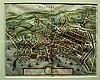 1 piece. [Merian, Matthaus.] Hand-Colored Town Plan.