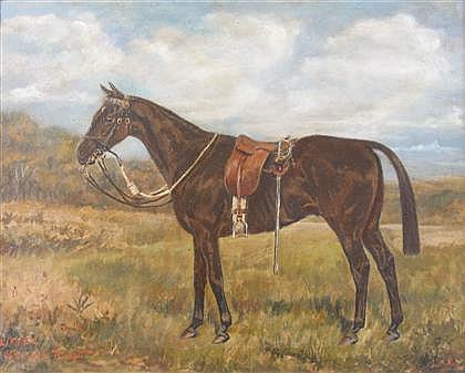 W. WASHDEL TRICKETT (BRITISH 19TH CENTURY))