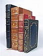 4 vols.  [Leather Bindings:] (Schoonover, F.E., illustrator.) Mott, Lawrence. Jules of the Great Heart. London: W. Hei...
