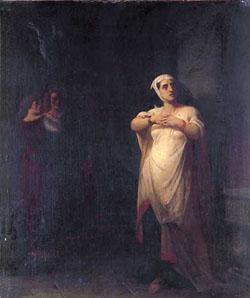 PETER FREDERICK ROTHERMEL (American 1817-1895) LADY MACBETH
