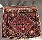 Qashqa'i complete bag, southwest persia, circa late 19th century,