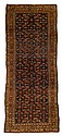 Kurdish carpet, northwest persia, circa late 19th century,