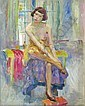 JOSEPH SACKS, (AMERICAN 1887-1973), DRESSING, Joseph Sachs, Click for value