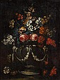 NEAPOLITAN SCHOOL, (LATE 17TH CENTURY), STILL LIFE WITH FLOWERS AND URN
