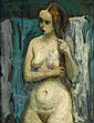 MOSES SOYER, (AMERICAN 1899-1974),