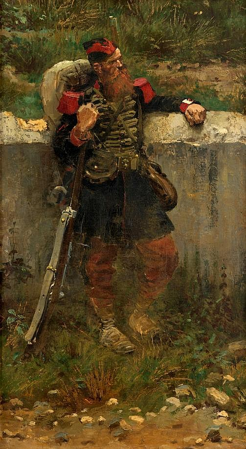 JEAN BAPTISTE EDOUARD DETAILLE, (FRENCH 1848-1912),