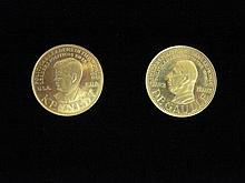 A collection of three commemoratives,