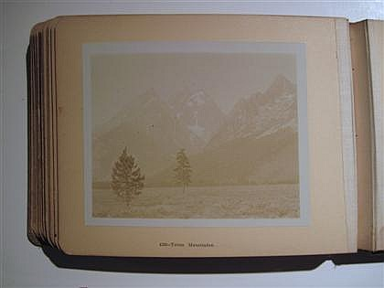 1 vol.  Photography - Yellowstone National Park: St. Paul, Minnesota: F. Jay Haynes, c1910. 4to, orig. red lettered cloth; l...