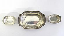 Thirteen sterling silver nut dishes, r. wallace and sons, wallingford, ct,