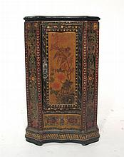 Painted side cabinet, 20th century,