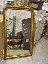 Federal giltwood wall mirror, 19th century,