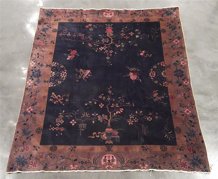 Chinese art deco carpet, circa 1930,