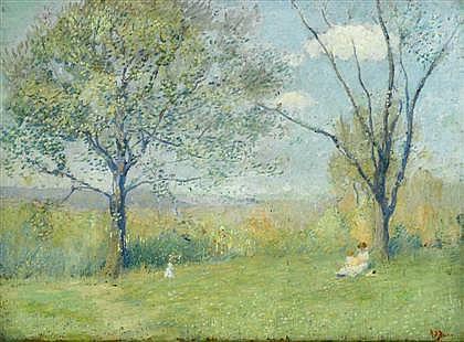 RAE SLOAN BREDIN, (AMERICAN 1881-1965),