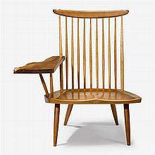 George Nakashima (1905-1990), lounge chair with arm, 1986