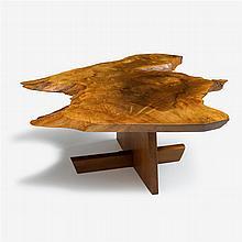 George Nakashima (1905-1990), minguren i coffee table, 1987