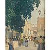 RAE SLOAN BREDIN, (AMERICAN 1881-1933), NAPLES STREET SCENE, Rae Sloan Bredin, $6,000
