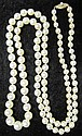 Lady's strand of cultured pearls, , Graduating in size, 5.3-9mm, 14 karat yellow gold clasp.