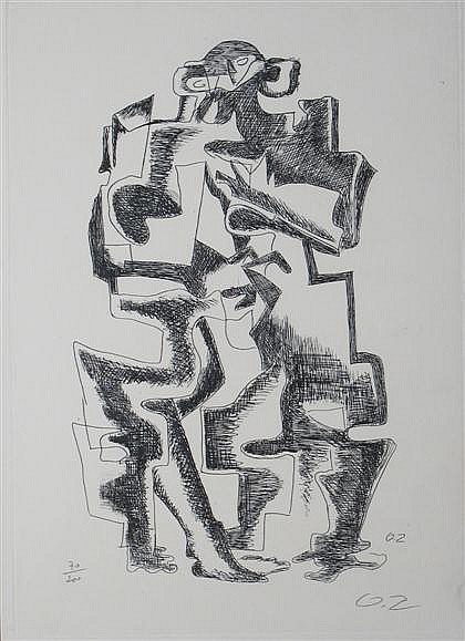 OSSIP ZADKINE, (RUSSIAN/FRENCH 1890-1967),