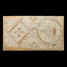 Syrian mosaic panel, circa 5th century A.D.