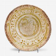 Kashan lustre pottery bowl, Persia, circa 10th-12th century A.D.