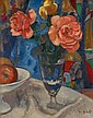 FRANÇOIS GALL, (FRENCH, 1912-1987), STILL LIFE WITH ROSES