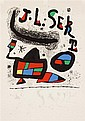 JOAN MIRÓ, (SPANISH, 1893-1983), POSTER FOR THE EXHIBITION