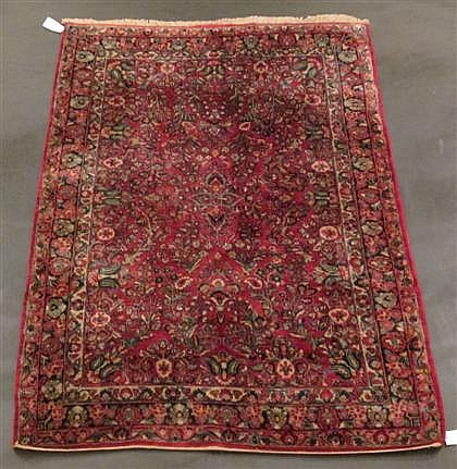 Sarouk carpet, west persia, circa 1930,