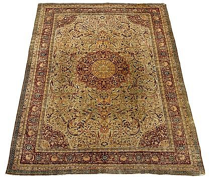 Kermanshah carpet, southeast persia, circa 2nd half 19th century,