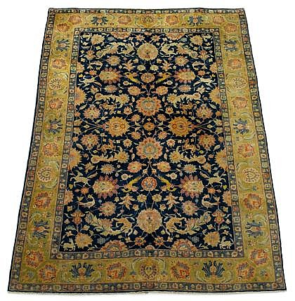 Indian carpet, circa 1940,
