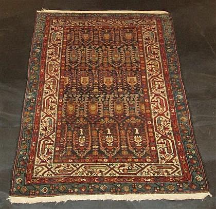 Kurdish rug, northwest persia, circa late 19th century,