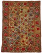 Uzbek suzani, circa third quarter 19th century,