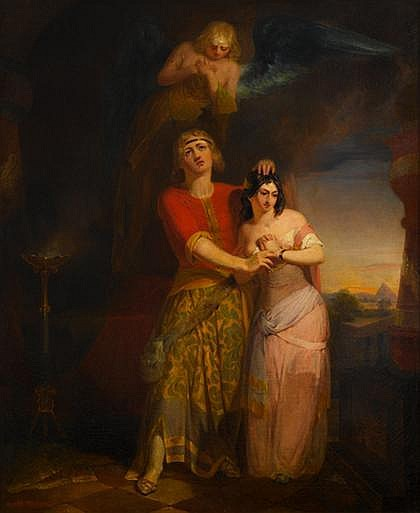 PETER FREDERICK ROTHERMEL, (AMERICAN 1812-1895), TIMON OF ATHENS