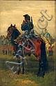 EDOUARD JEAN BAPTISTE DETAILLE, (FRENCH 1848-1912), A CAVALRYMAN