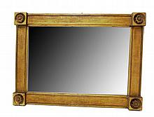 Classical giltwood mirror, 19th century,