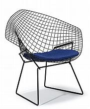 Diamond chair, harry bertoia (1915-1978), for knoll,