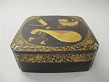 Meiji lacquer document box, ,