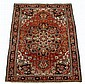 Heriz carpet, northwest persia, circa 1900,
