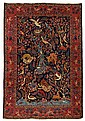 North Persian pictorial rug, circa 1920,