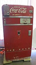 Vintage Vendo V-83 Coca-Cola Drink Vending Machine