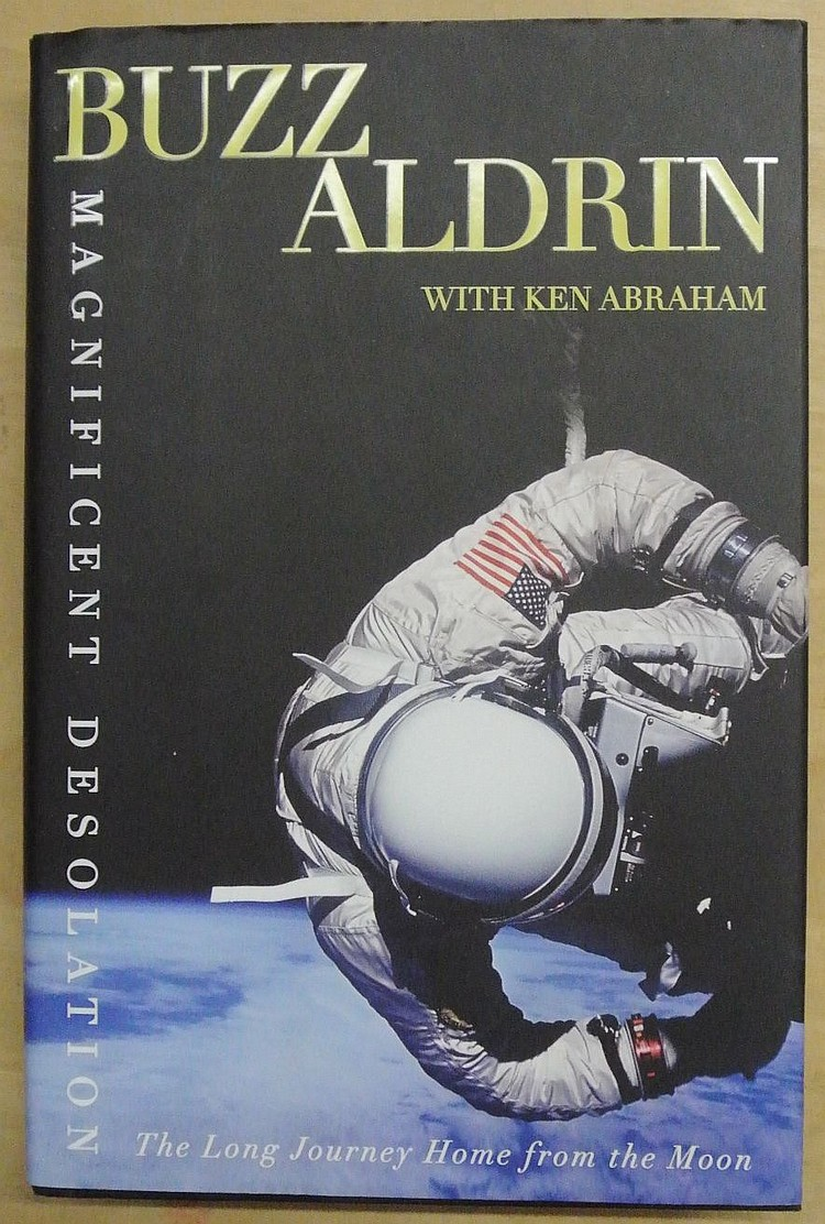 Buzz Aldrin Autographed Magnificent Desolation 1st Edition