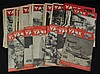 Large Lot of 1944-1945 Yank Magazines