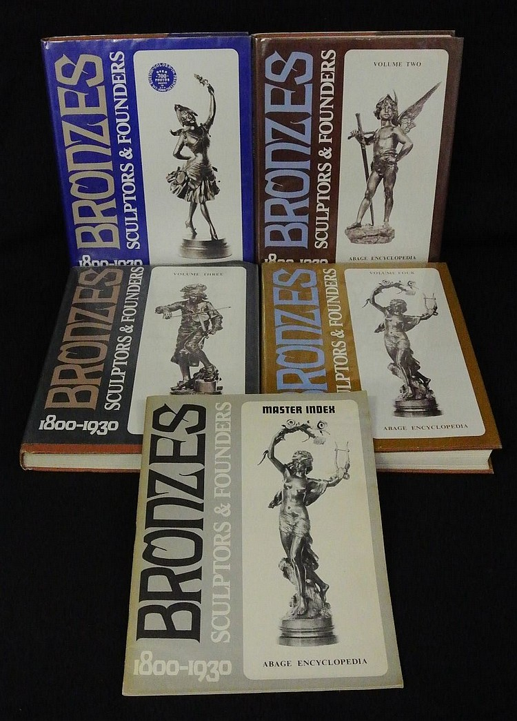 Bronzes Sculptors & Founders by Berman (4)Volumes & Index